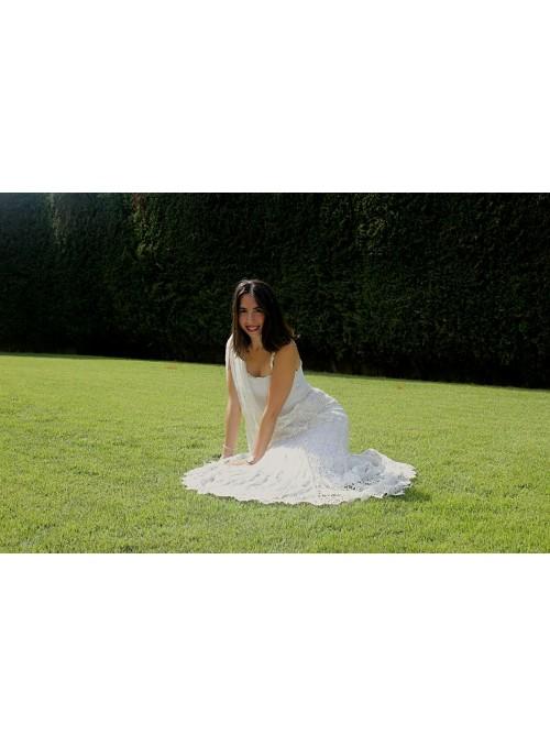 Vestido Novia Tirantas